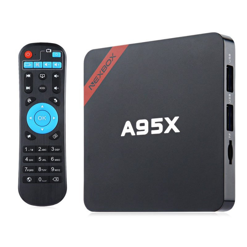 סטרימר אנדרואיד NEXBOX A95X