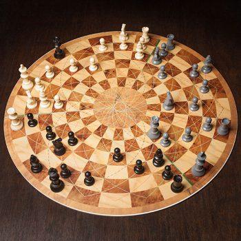 משחק שחמט לשלושה שחקנים