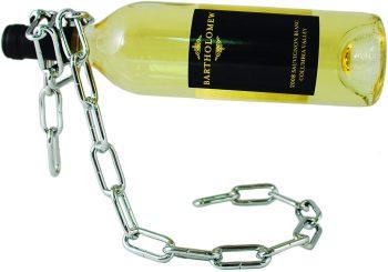 מעמד שרשרת לבקבוק יין